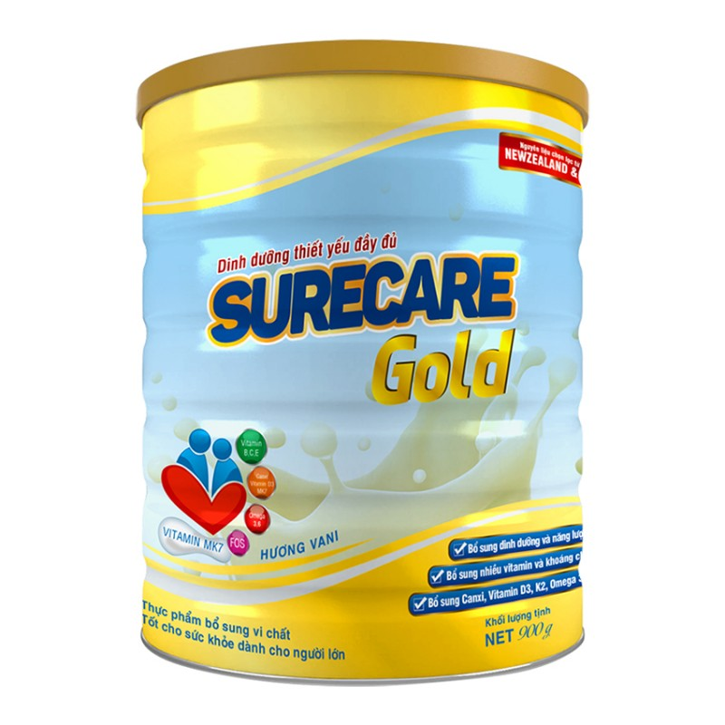 Sữa Surecare Gold 900g