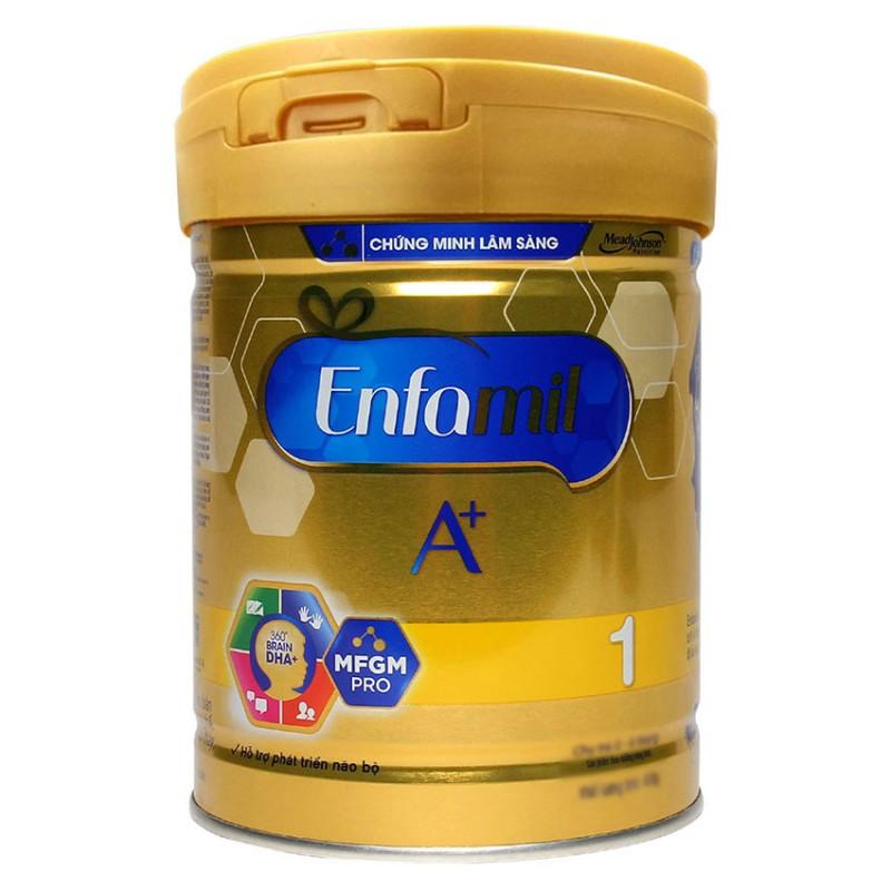 Sữa bột Enfamil A+ 1 DHA+ và MFGM 870g
