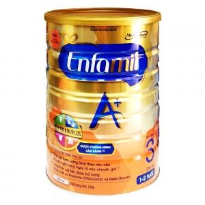 Sữa Enfamilk A+3 vani 360 brain plus - 1.8kg(1-3 tuổi)