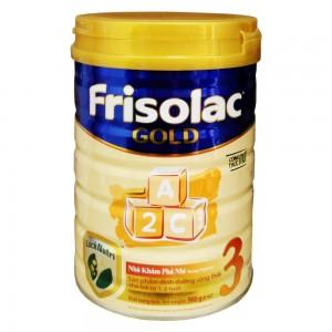 Sữa Frisolac Gold 3 900g
