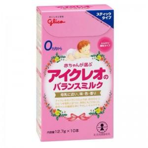 Sữa Glico Icreo số 0 hộp giấy 12.7g