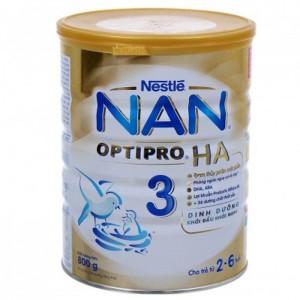 Sữa Nan HA 3 800g ( Từ 2 - 6 tuổi )