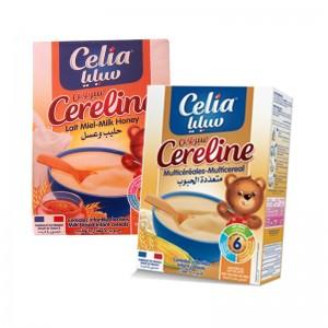 Bộ 2 Bột ăn dặm Celia careline (mật ong-tổng hộp)
