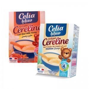 Bộ 2 Bột ăn dặm Celia careline (mật ong-tiêu hóa)