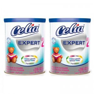 Bộ 2 Sữa Celia Expert Số 2 - 400g (6-12 tháng)