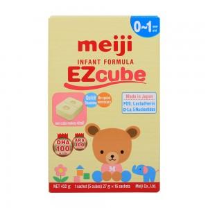 Sữa Meiji EZcube 0-1Y 432g