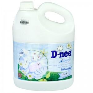 Nước Giặt Quần Áo Em Bé D-nee dạng can 3L (màu trắng)