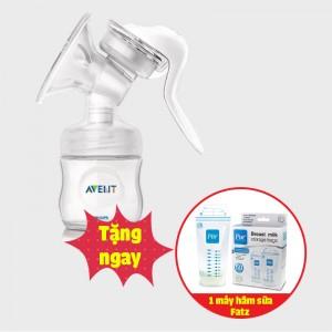 Máy hút sữa Avent bằng tay (tặng hộp túi trữ sữa Pur 40 túi)
