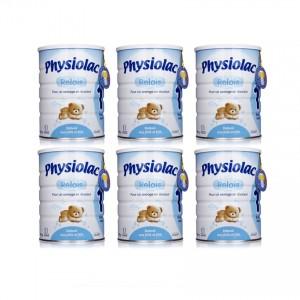 Bộ 6 Sữa Physiolac 1ER 900g