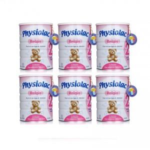 Bộ 6 Sữa Physiolac 2ER 900g