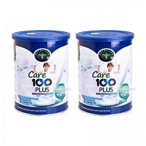 Bộ 2 Sữa Care 100 plus 900g