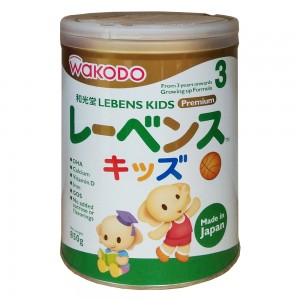 Sữa Wakodo Lebens Kids số 3 850g (cho bé trên 3 tuổi)