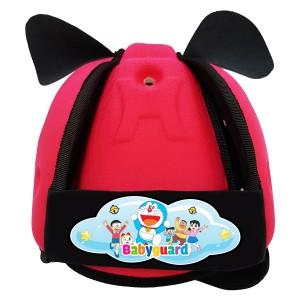 Mũ bảo vệ đầu cho bé BabyGuard (Hồng) logo Doremon 02