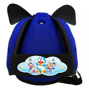 Mũ bảo vệ đầu cho bé BabyGuard (Xanh Bích) logo Doremon 02
