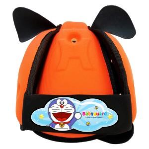 Mũ bảo vệ đầu cho bé BabyGuard (Hồng) logo Doremon 01