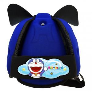 Mũ bảo vệ đầu cho bé BabyGuard (Xanh Bích) logo Doremon 01