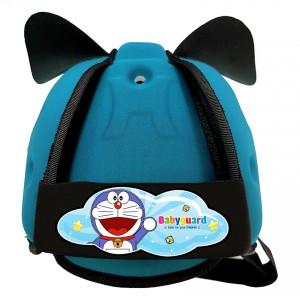 Mũ bảo vệ đầu cho bé BabyGuard (Xanh Ngọc) logo Doremon 01