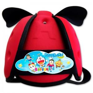 Nón bảo vệ đầu cho bé BabyGuard (Đỏ) logo Doremon 03