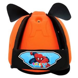 Mũ Bảo Vệ Đầu Cho Bé BabyGuard (Cam) logo Người Nhện
