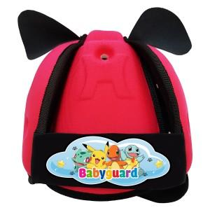 Mũ Bảo Vệ Đầu Cho Bé BabyGuard (Hồng) logo Pokemon 01