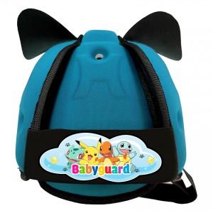 Mũ Bảo Vệ Đầu Cho Bé BabyGuard (Xanh Ngọc) logo Pokemon 01
