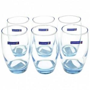 BỘ 6 LY THỦY TINH LUMINARC SALTO ICE BLUE 350ML