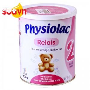 Sữa Physiolac 2ER 900g date 2019