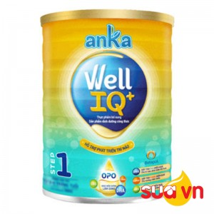 Sữa anka well IQ step 1 900g
