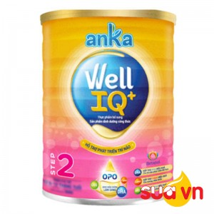 Sữa anka well IQ step 2 400g