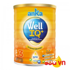 Sữa anka well IQ step 3 900g