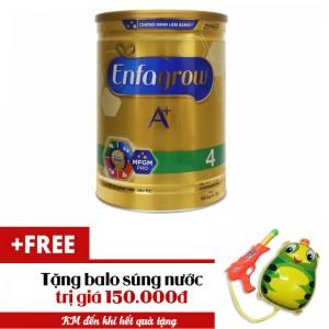 Sữa bột Enfagrow A+ 4 DHA+ và MFGM 1.8kg tặng balo súng nước