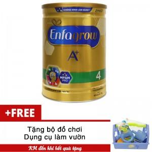 Sữa bột Enfagrow A+ 4 DHA+ và MFGM 1.8kg tặng đồ chơi làm vườn cho bé