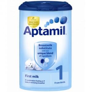 Chương trình khuyến mại từ sữa aptamil
