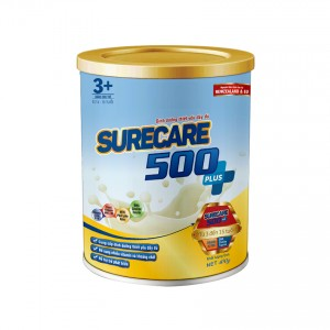 Sữa Surecare 500 plus 3+ 400g (3-15 tuổi)