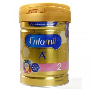 Sữa bột Enfamil A+ 2 DHA+ và MFGM 870g
