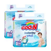 Bộ 2 tã dán Goo.N Jumbo Slim XL30 (dành cho trẻ 12-20kg)