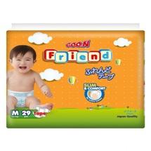 Tã dán Goo.n Friend size M 29 miếng(cho bé từ 6-11kg)
