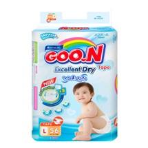 Tã dán Goo.N Super Jumbo  Slim L56(dành cho bé 9-14kg)
