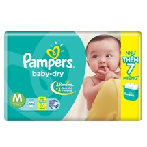 Tã Pampers Jumbo size M66