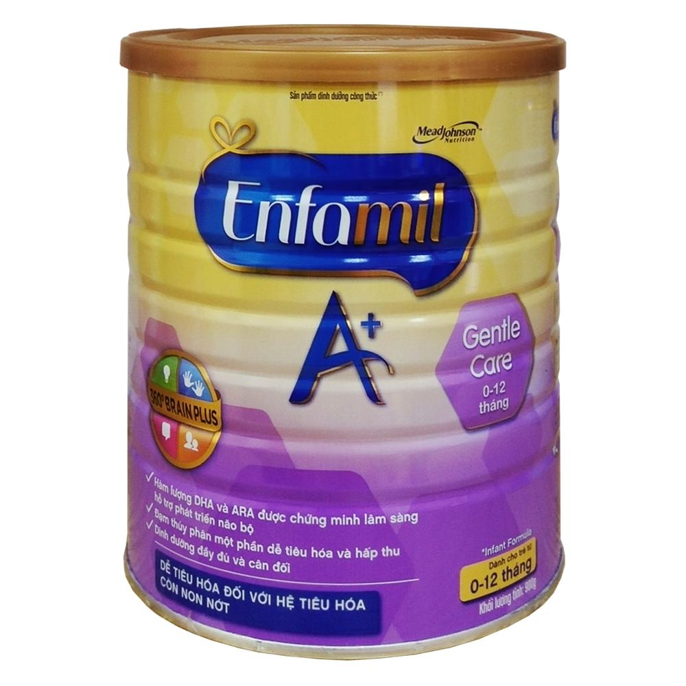 Sữa bột Enfamil Gentle care 900g (0-12)