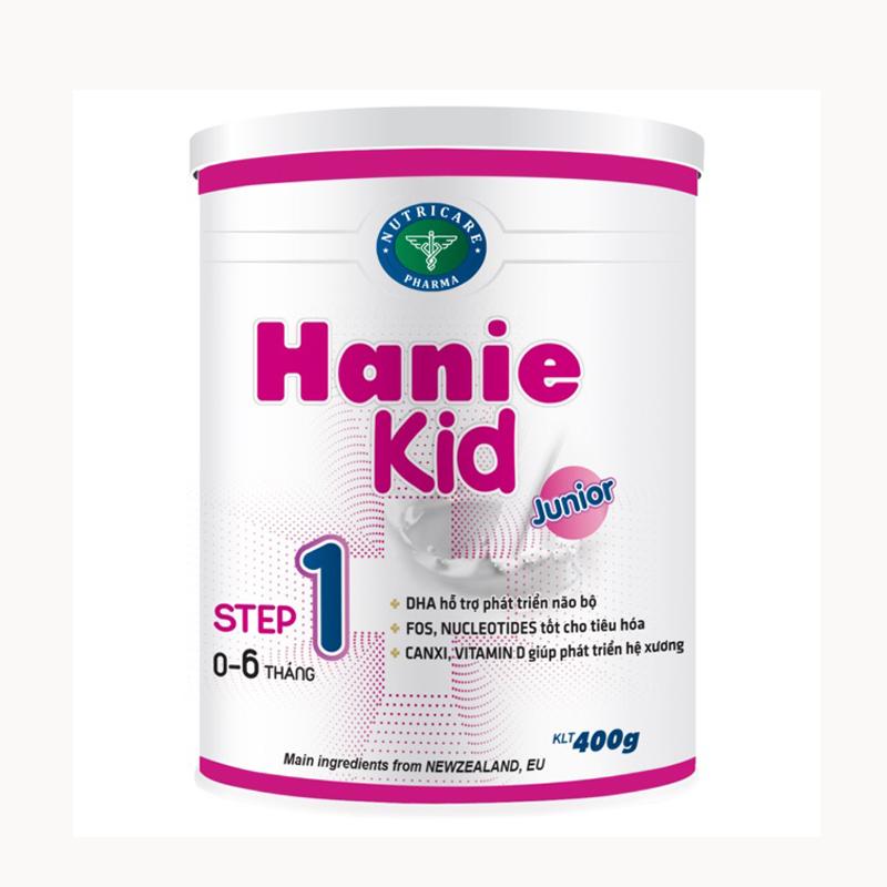 Sữa hanie kid 1 900g