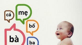 Những thói quen giúp trẻ nhanh biết nói, mẹ nhớ tập cho bé nhé