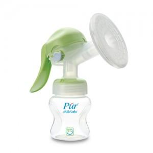 Bộ Hút sữa bằng tay Pur + bình sữa cổ rộng 130ml