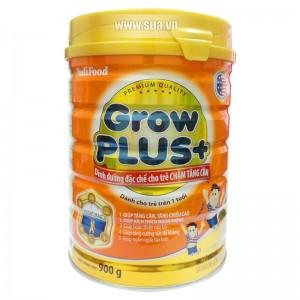 Sữa Nutifood GrowPlus+ cho trẻ chậm tăng cân 900g (1 tuổi trở lên) (Hết Hàng)
