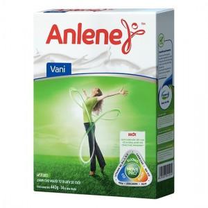 Sữa Anlene Vanilla Bonemax 400g hộp giấy (Dưới 51 tuổi)