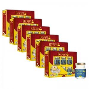 Bộ 6 Hộp Yến sào Bionest Gold Isomalt cao cấp (dành cho người tiểu đường) - hộp quà tặng 6 lọ