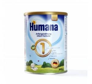Sữa Humana Gold 1 của Đức 800g (trẻ từ 0-6 tháng)