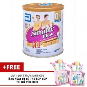 Sữa Similac mom 900g tặng 1 bộ thú Bop Bop
