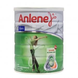 Sữa Anlene Vanilla 400g (từ 19 đến 45 tuổi)