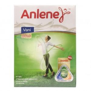 Sữa Anlene Gold 440g hộp giấy Trên 40 tuổi